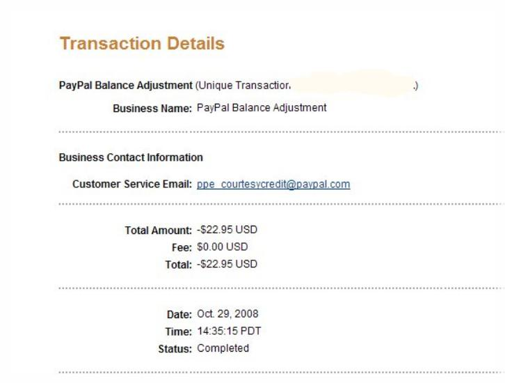 PayPal e-check Glitch is Compounded by Another PayPal Error